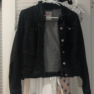 Black Demin Jacket